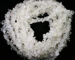 580.00 Cts three Strand Crystal bead strands  GOGO 1473
