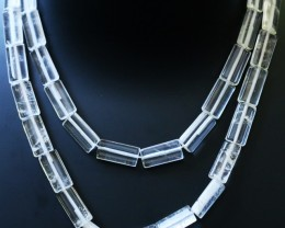 269.00 Cts two Strand Crystal bead strands  GOGO 1480