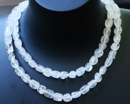 350.00 Cts two Strand Crystal bead strands  GOGO 1484