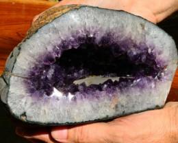 3.4 Kilo Uruguay Amethyst Geode Specimen AMT12