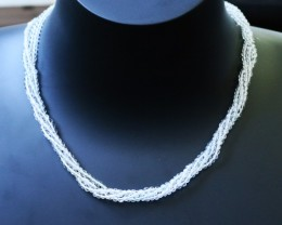 55.00 Cts three Strand Crystal bead strands  GOGO 1486