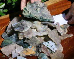 3.82 Kilo Amethyst Crystal Parcel AMT19