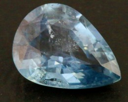 1.30 Cts Pear Songea Sapphire GOGO 1495
