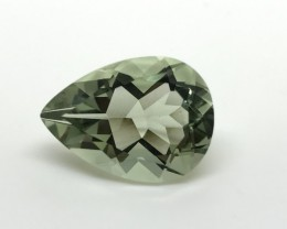 10.45 Heart Touching Green Amethyst High Class Cut Gemstone