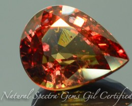 GiL Certified 3.98 ct Natural Garnet ~ Color Change PR.D