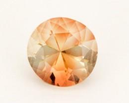 1.6ct Peach Round Sunstone (S2476)