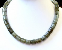 350.00 Cts A Graden Lapradorite  Bead Strand GOGO 1507