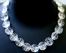 300.00 Cts three Strand Crystal bead strands  GOGO 1544