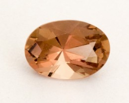 0.45ct Peach Oval Sunstone (S2481)
