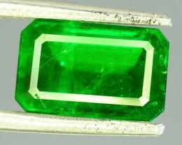 2.255 CT Untreated Vivid Green Emerald