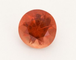 0.95ct Red Round Sunstone (S2497)
