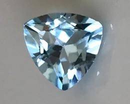 Jewellery Grade Blue Topaz Trilliant VVS No Reserve