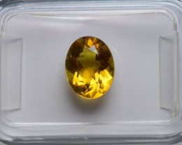 Citrine - Flawless - 1.49 ct - IGI certified