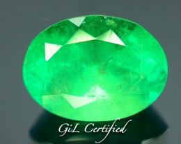 GiL Certified 2.44 ct Columbian Emerald PR.f