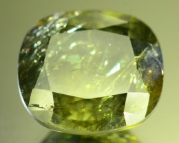 Certified~10.20 ct Untreated Green Sapphire