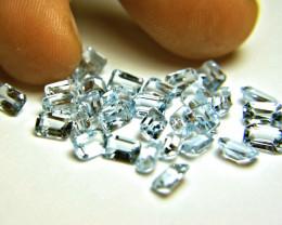 20.52 Tcw. Blue Brazil Topaz Gemstones