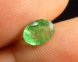 0.85cts Zambian Emerald , 100% Natural Gemstone
