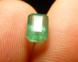 1.39cts Zambian Emerald , 100% Natural Gemstone