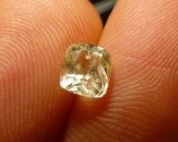 1.05ct Yellow Ceylon Sapphire , 100% Natural Untreated Gemstone