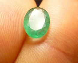 1.30cts Zambian Emerald , 100% Natural Gemstone