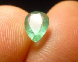 1.23cts Zambian Emerald , 100% Natural Gemstone