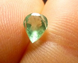 0.70cts Zambian Emerald , 100% Natural Gemstone