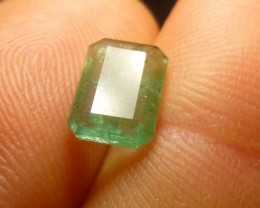 1.35cts Zambian Emerald , 100% Natural Gemstone