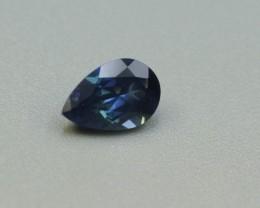 BLUE SAPPHIRE PEAR SHAPED