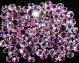 18.90 Cts commercial parcel  Pink Sapphires GOGO 1575