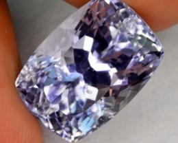 natural 15.20 untreated kunzite gemstone