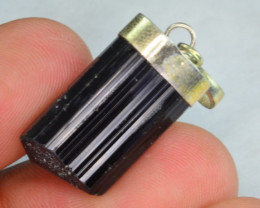 33.05 CT NATURAL TOURMALINE PENDANT WITH SILVER