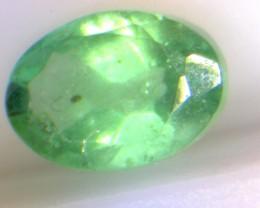 0.57cts  Emerald , 100% Natural Gemstone