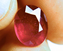 10.57 Carat Fiery Ruby - Gorgeous
