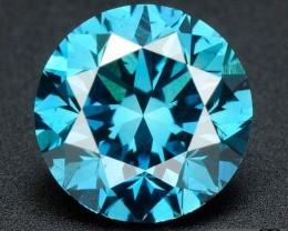 0.041ct Vivid Blue SI3 not cert