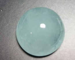 18.70ct 17 by 9.5mm Aquamarine cabochon from Brazil