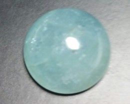 15ct 15.5 by 8mm Aquamarine cabochon from Brazil