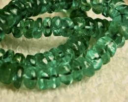 227.0 Tcw. Tsavorite Garnet Necklace - Superb