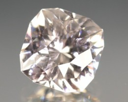 7.01 CT COLORLESS ZIRCON - INCREDIBLE CUT!  UNTREATED!