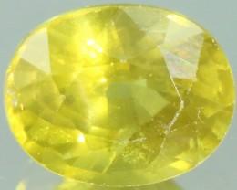 1.65 Cts Songea Sapphire GOGO 1670