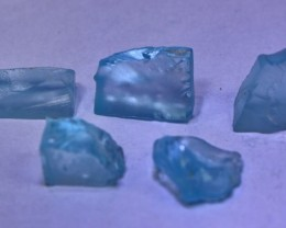 19.25 cts Bueatiful, Superb & Stunning  Blue Topaz Rough lot
