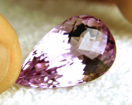 24.88 Carat VVS1 Light Purple Amethyst