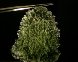 45.38ct Beautiful Besednice Moldavite specimen