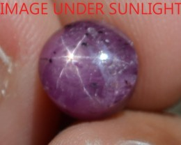 4.51 Ct Star Ruby CERTIFIED Beautiful Natural Unheated & Untreated