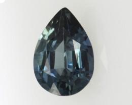 0.56cts Natural Australian Blue Sapphire Pear Cut
