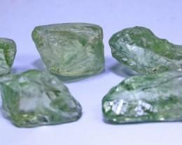 Rare 206 CT unheated Prasiolite(Green Amethyst Rough