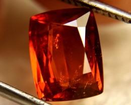 3.63 Carat Vibrant Orange Zircon - Superb