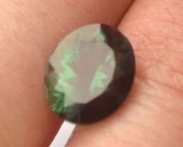 3.97 Carat Oval Cut Green Andesine