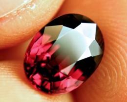 3.61 Carat IF/VVS1 Raspberry Rhodolite Garnet - Gorgeous