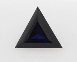 1.42cts Natural Australian Blue Sapphire Triangle Cut