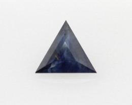 0.42cts Natural Australian Blue Sapphire Triangle Cut